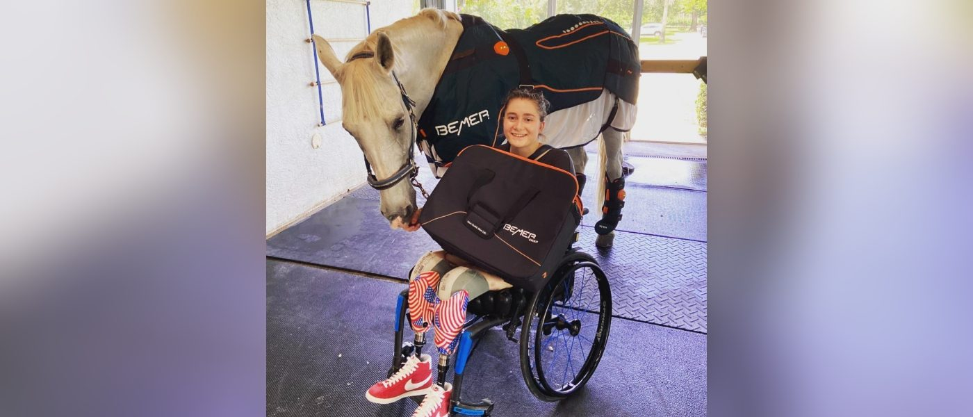 She Lost Both Her Legs in the Brussels Bombing And is Now Competing on Horseback in the Paralympics