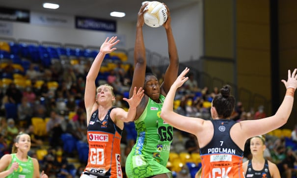 Giants crack Fever code after muting Jhaniele Fowler in Super Netball finals